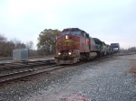 BNSF 901, FURX 7253, CSX 5943 & HLCX 8168